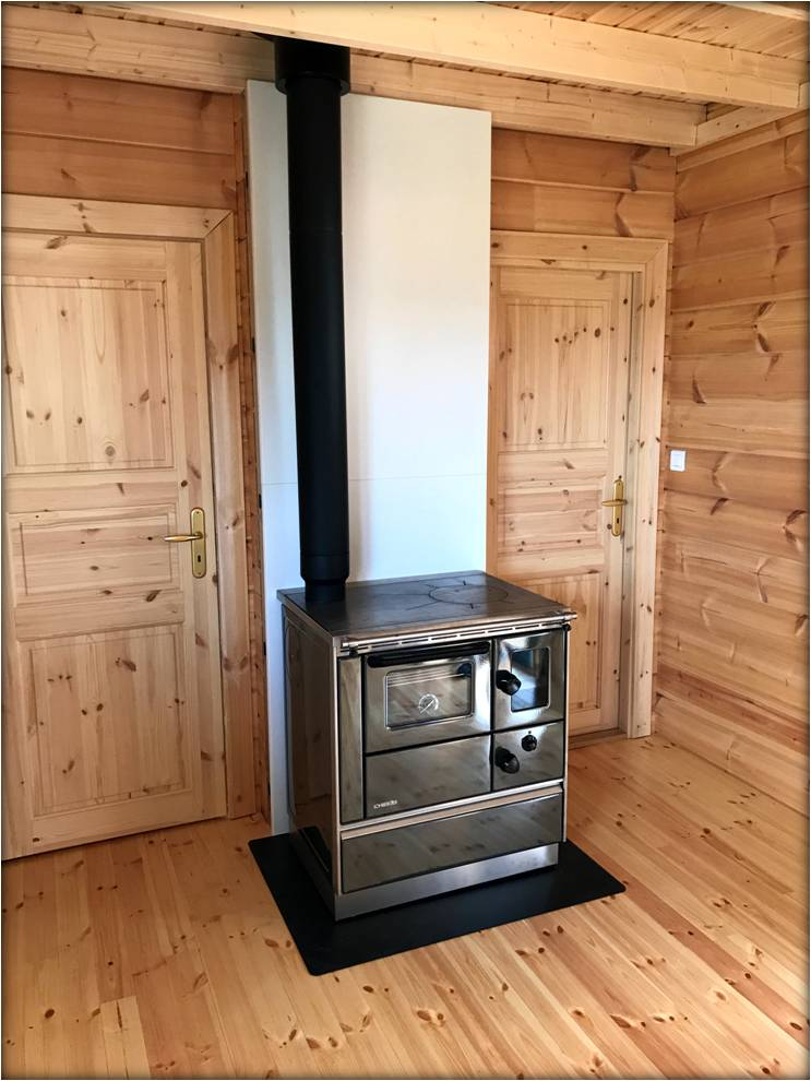cuisini re bois lohberger rega 75 f chauffage bois. Black Bedroom Furniture Sets. Home Design Ideas