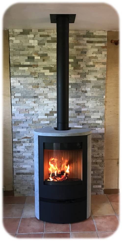 po le bois lotus jubil e 35 tout en pierre ollaire chauffage bois auvergne. Black Bedroom Furniture Sets. Home Design Ideas