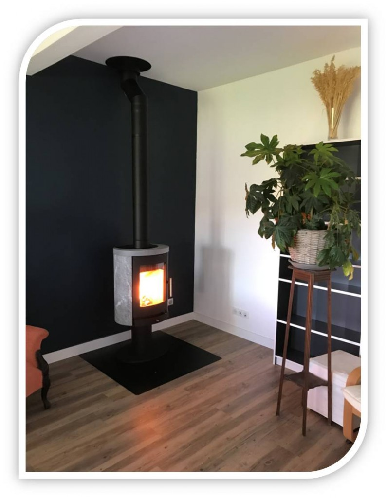 po le bois scan line 850 tout pierre ollaire chauffage. Black Bedroom Furniture Sets. Home Design Ideas